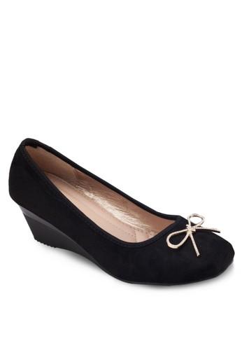 蝴蝶結esprit outlet hk楔形跟鞋, 女鞋, 鞋