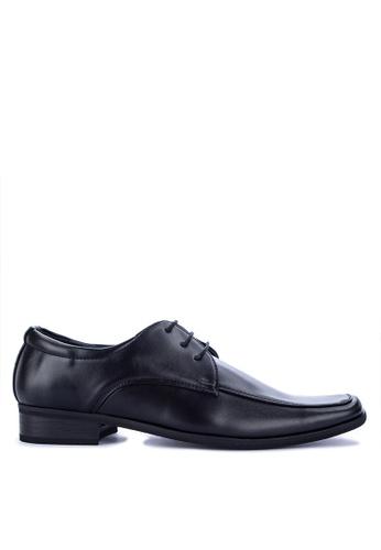 Brogue & Derby black Dewey Formal Shoes 86D1DSH133451EGS_1