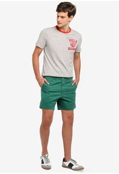 fd53918d2 30% OFF Polo Ralph Lauren Short Sleeve Crew Neck Slim T-Shirt HK  690.00  NOW HK  482.90 Sizes S M L XL