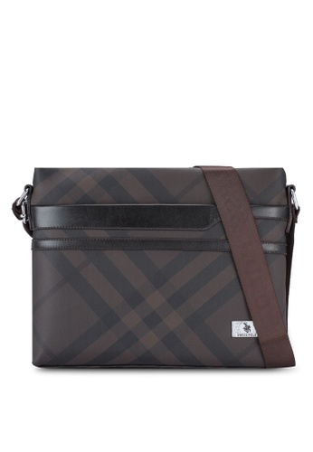 Swiss Polo brown Swiss Polo Fashion Bag SW912AC13XFQMY_1