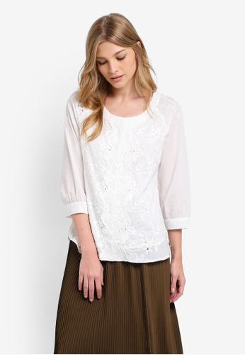 Geb. white Lace Top GE945AA0RWCVMY_1