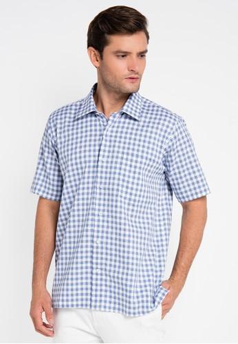 Gianni Visentin blue Regular Fit Shirt GI012AA0UX27ID_1