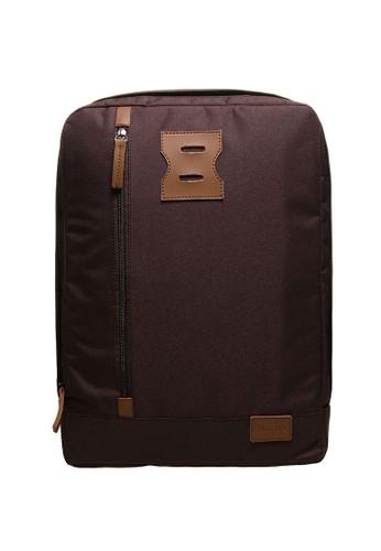 NAOKI brown NAOKI by Mayonette Nethan Backpack - Coffee MA831AC27DEQID_1