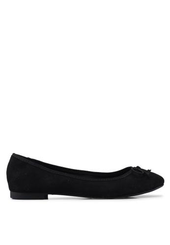 ONLY 黑色 蝴蝶結平底鞋 7FF61SH6B9A691GS_1