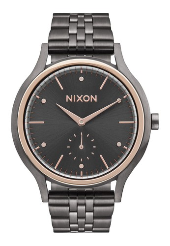 Nixon black SALA ALL ROSEGOLD/GUNMETAL 29B0AACB356467GS_1