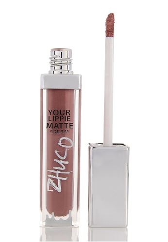 Zhuco Cosmetics purple Lippie Matte Cream 17 Unicorn ZH711BE0S2I1MY_1