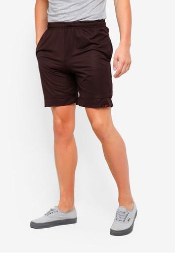 UniqTee 黑色 Jogging Style 百慕達短褲 7928EAA4F58B72GS_1