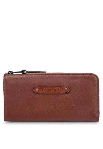 LONGCHAMP brown Longchamp 3D Wallet 8B2C6ACF04F55FGS_1