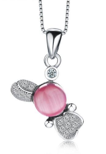 LYCKA silver LPP88162 S925 Silver Necklace 04E36AC6E38D45GS_1
