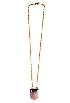TAMINA Necklace - Rose Quartz