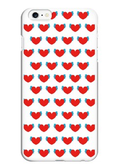 Winged Hearts Glossy Hard Case for iPhone 6 Plus