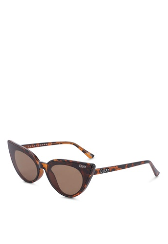 Quay Australia brown Shine On Sunglasses 6FECCGL4A83E8AGS_1