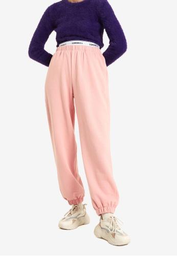 PIMKIE pink Fleece Joggers ED9C9AAC4B2EDAGS_1