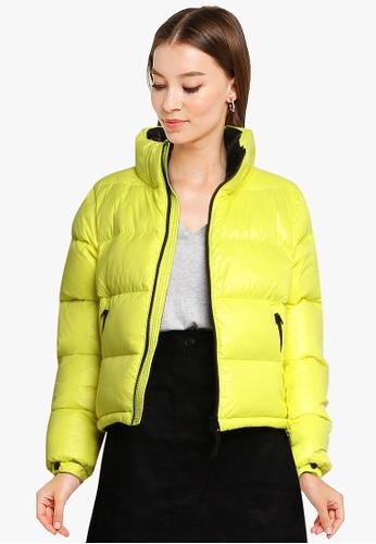 SUPERDRY 黃色 Luxe Alpine Down Padded 外套 D9450AAF839CF7GS_1
