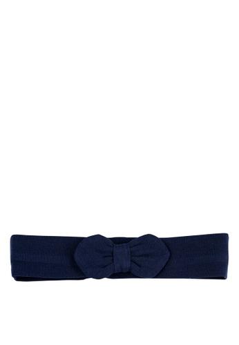 Du Pareil Au Même (DPAM) navy Navy Bow Hairband 54F25KCCA28DFEGS_1