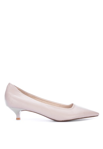 closer at separation shoes various colors Shop Janylin Pointed Kitten Heel Pumps Online on ZALORA Philippines