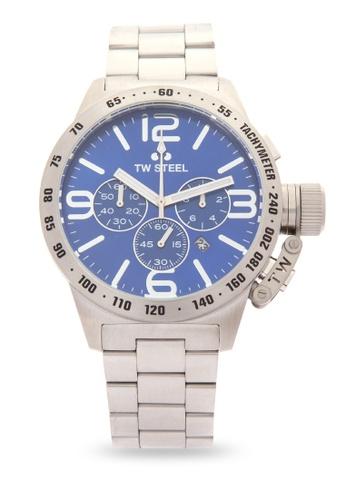 TW Steel silver CB14 Canteen Bracelet Analog Watch TW310AC0KMA3PH_1