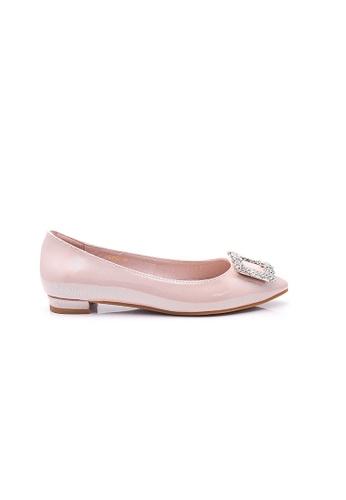 Elisa Litz pink Janiee Flats (Pink) 2F45CSHA4F1E21GS_1