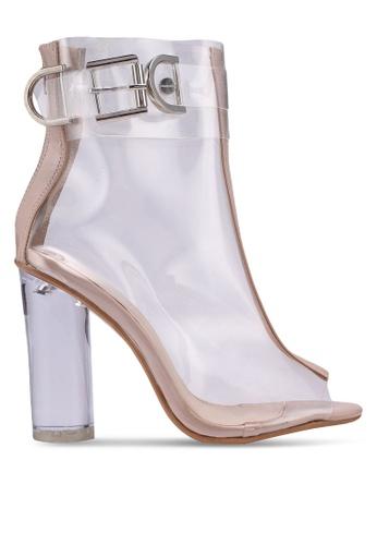 Public Desire beige Glazed Boots BAAA7SHAC8C001GS_1