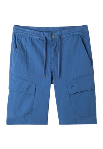 Chaps blue Chaps Performance Cargo Shorts CH325AA61EZMMY_1