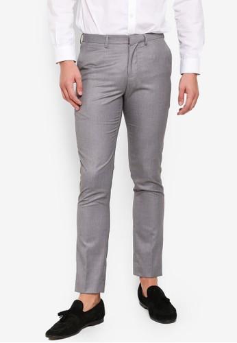Electro Denim Lab grey Formal Long Pants C0ECDAAE13AD63GS_1