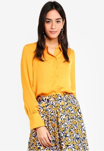 Vero Moda orange Sandra Shirt 26FA3AA8DF50F9GS_1
