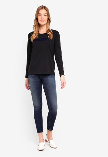 Calvin Klein black Insitution Logo Tee - Calvin Klein Jeans C4913AA6A050ECGS_1