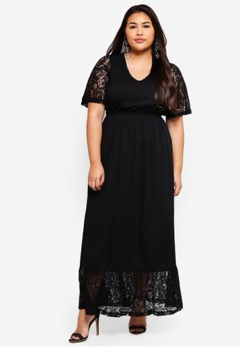 Junarose black Plus Size Salli Maxi Dress 58CF5AA332039FGS_1