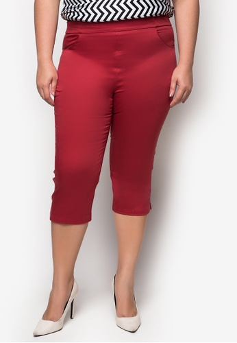 Curvy red Plus Size Ceanna Leggings CU774AA42ESVPH_1