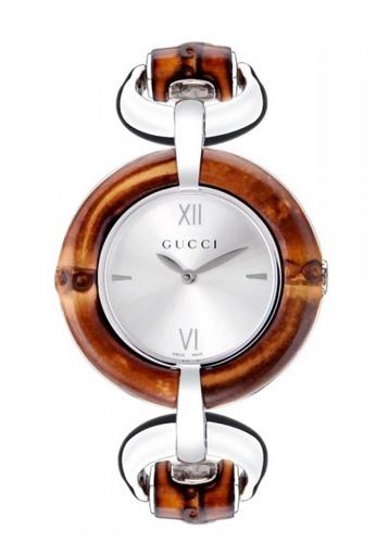 Gucci silver Gucci Bamboo Women's Watch 77311AC11F2EC5GS_1