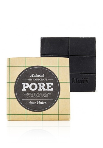 Klairs Klairs Gentle Black Sugar Charcoal Soap KL722BE0S6PGMY_1