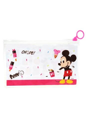Disney Mickey Disney Mickey Mouse Zip Lock Pouch 80A91KCACA73E5GS_1