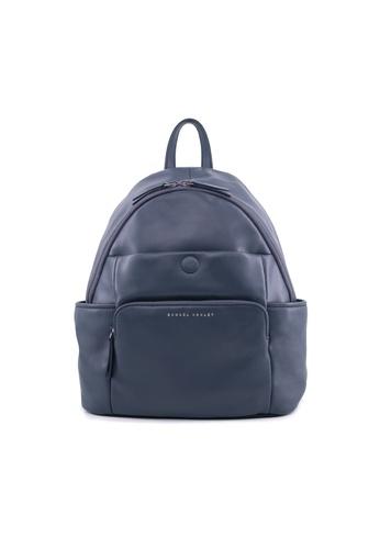 Samuel Ashley navy Samuel Ashley Aria Lambskin Leather Backpack - Dark Navy BD600ACEF6B53AGS_1