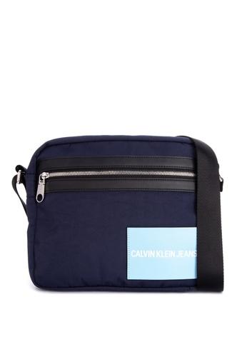 Calvin Klein navy Fabric Camera Bag 655A5AC7F1F5F1GS_1