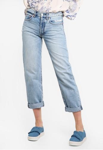 Free People blue Universal Boyfriend Jeans FR659AA46GIRMY_1
