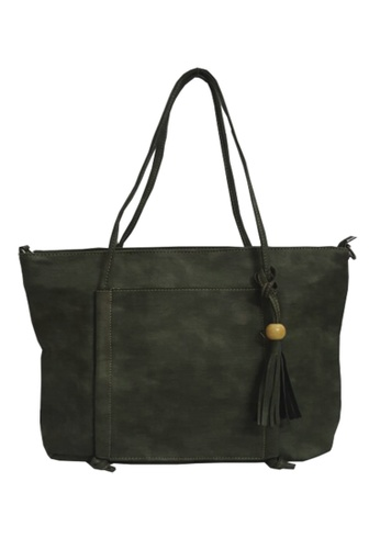 TCWK green Ladies Shoulder Bag TC258AC90VFPMY_1