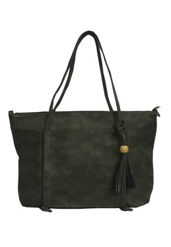 TCWK green Ladies Shoulder Bag TC258AC90VFPMY_1