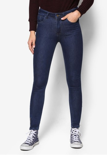 丹寧窄管牛仔褲、 服飾、 服飾SomethingBorrowed丹寧窄管牛仔褲最新折價