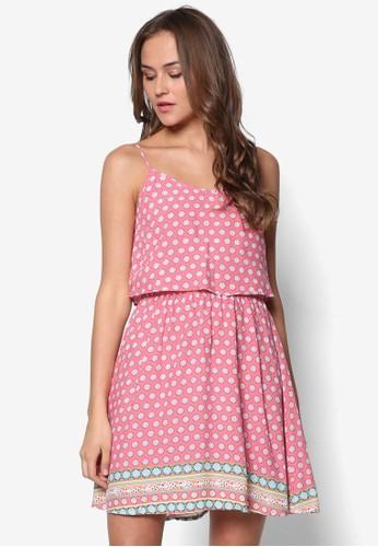 Roselea 層次細肩帶zalora 台灣門市小洋裝, 服飾, 服飾