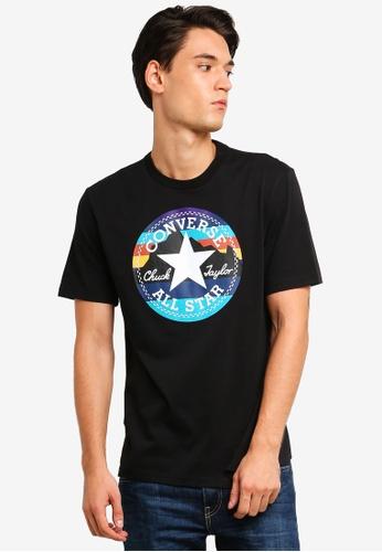 Converse 黑色 Converse All Star Mountain Club Chuck 短袖印花T恤 8F60CAAFD7A418GS_1