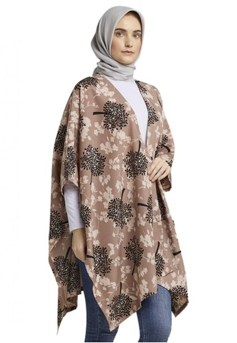 TITAN'S WARDROBE black and multi and brown Mimosa Outer 67E6CAACCC15FBGS_1