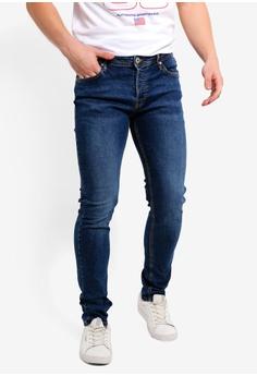 cc4f5b6f5ef333 Jack   Jones blue Glenn Original Slim Fit Jeans 3F54AAAC44872EGS 1