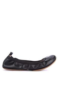 baf8e338eba Yosi Samra black Ballet Flats 458EFSHF6ED171GS 1