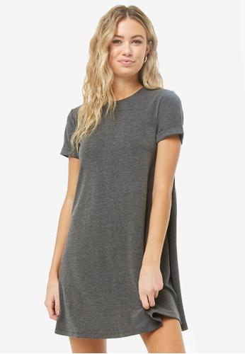 b7c20f247c72 Buy FOREVER 21 A Line Mini T-Shirt Dress Online | ZALORA Malaysia