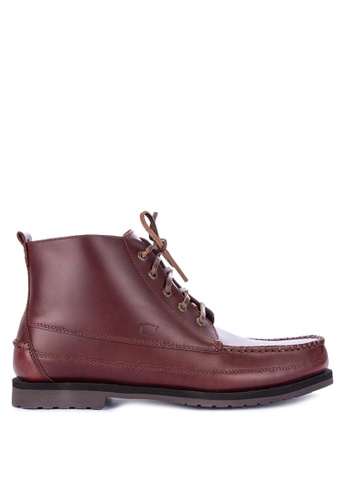 FLORSHEIM brown Sporty Boots 81ADDSH1E1032BGS_1