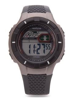 Unisex Rubber Strap Watch MXMR80260134