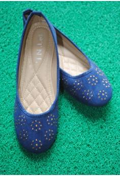 TNL Bianca Ballet Shoes (Navy Blue)