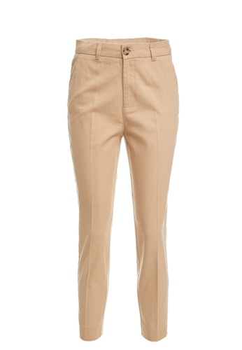 DeFacto brown Woman Woven Trouser FF525AAD4AB4A5GS_1