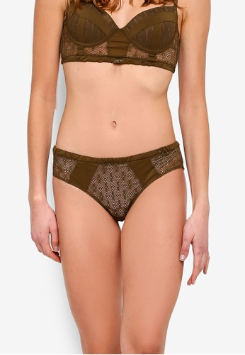 Undiz brown Populiz Panties AF30AUS72BFAFCGS_1