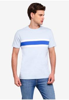 0e07e1ea4 GAP blue Everyday Crew Stripe T-Shirt E6F27AA48B8BA2GS_1